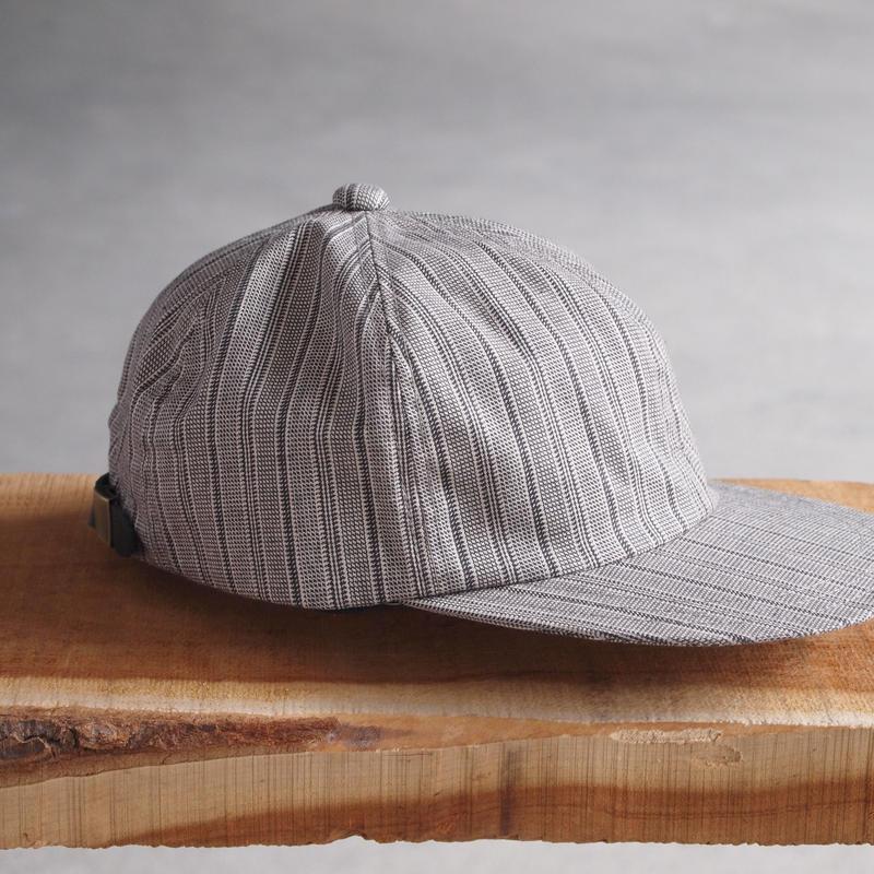 5W〈ゴワット〉  ESTILO CAP GRAY/STRIPE