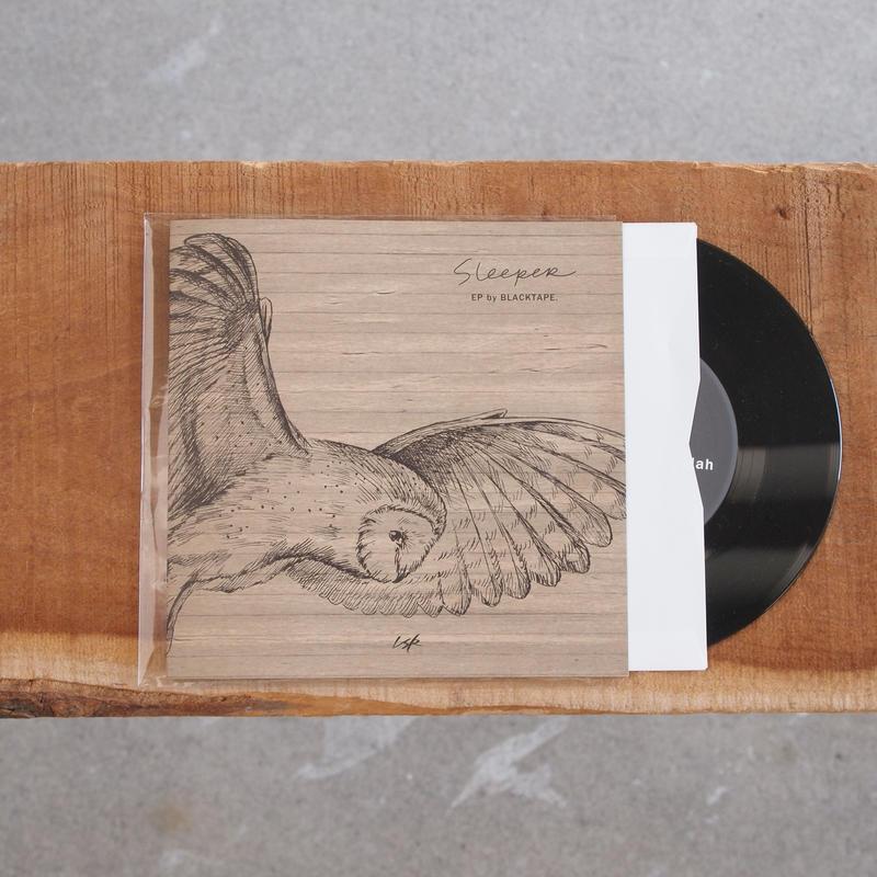 【限定盤7inchレコード】BLACKTAPE 〈ブラックテープ〉 Sleeper EP