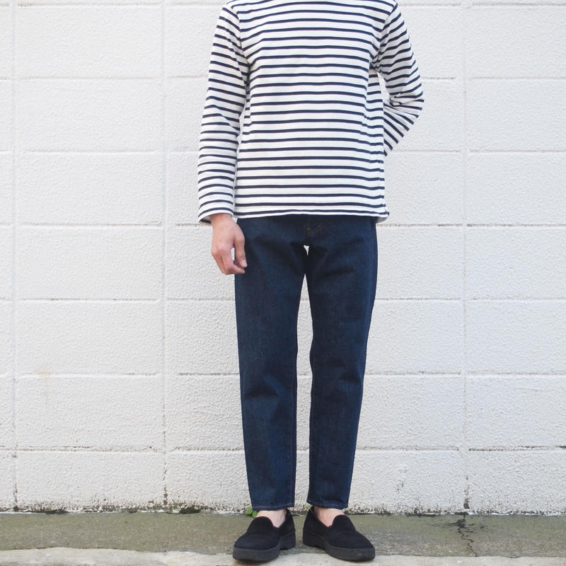 【unisex】Ordinary fits〈オーディナリーフィッツ〉 5POCKET ANKLE DENIM one wash INDIGO