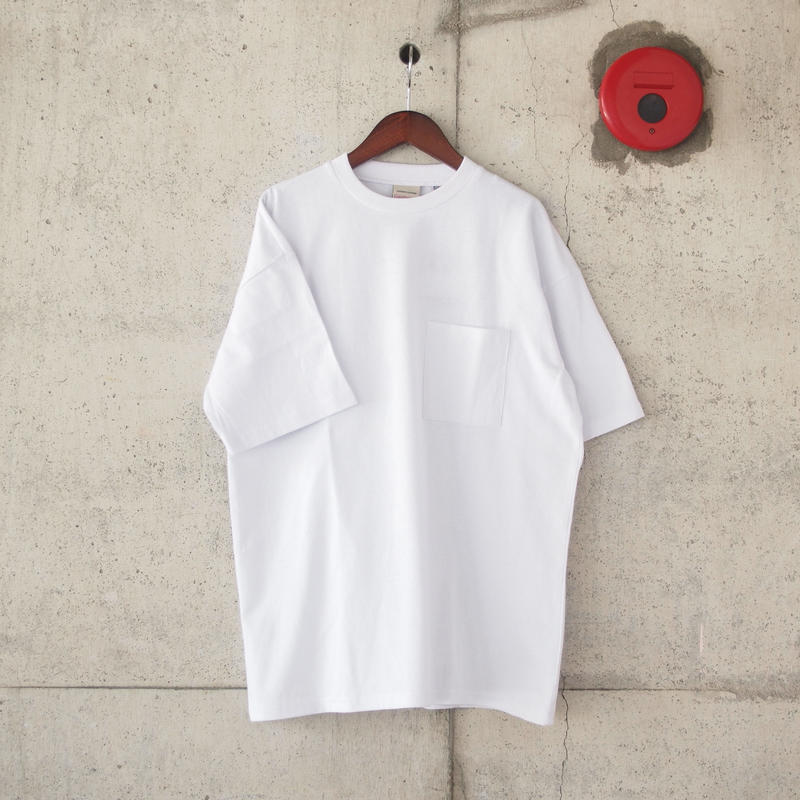 Goodwear〈グッドウェア〉 U.S.A. COTTON CRW NECK LOOSE TEE  WHITE