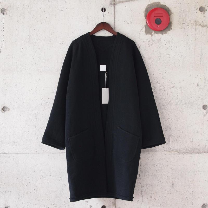 【unisex】5W〈ゴワット〉  Gaungi Long  - 三子撚Herringbone BLACK