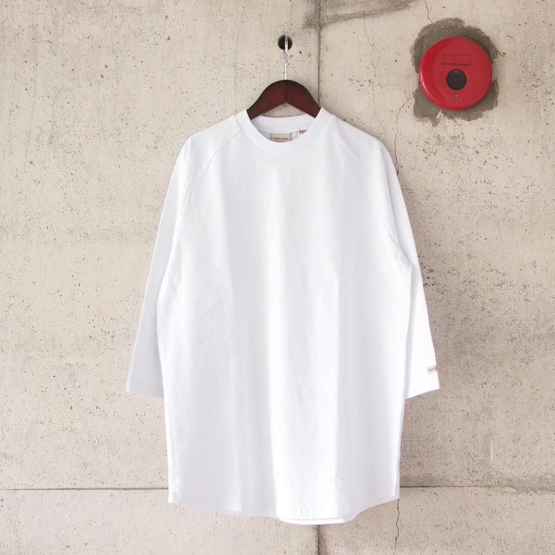 Goodwear〈グッドウェア〉 U.S.A COTTON 7分袖 T-Shirts WHITE