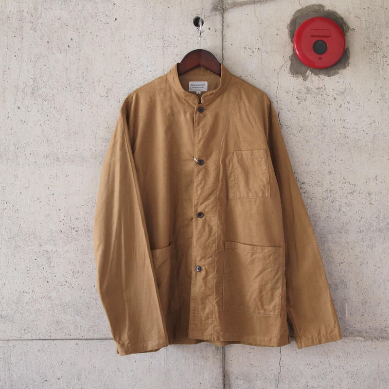 Manual Alphabet〈マニュアルアルファベット〉 CORDUROY WORK SHIRT JACKET CAMEL