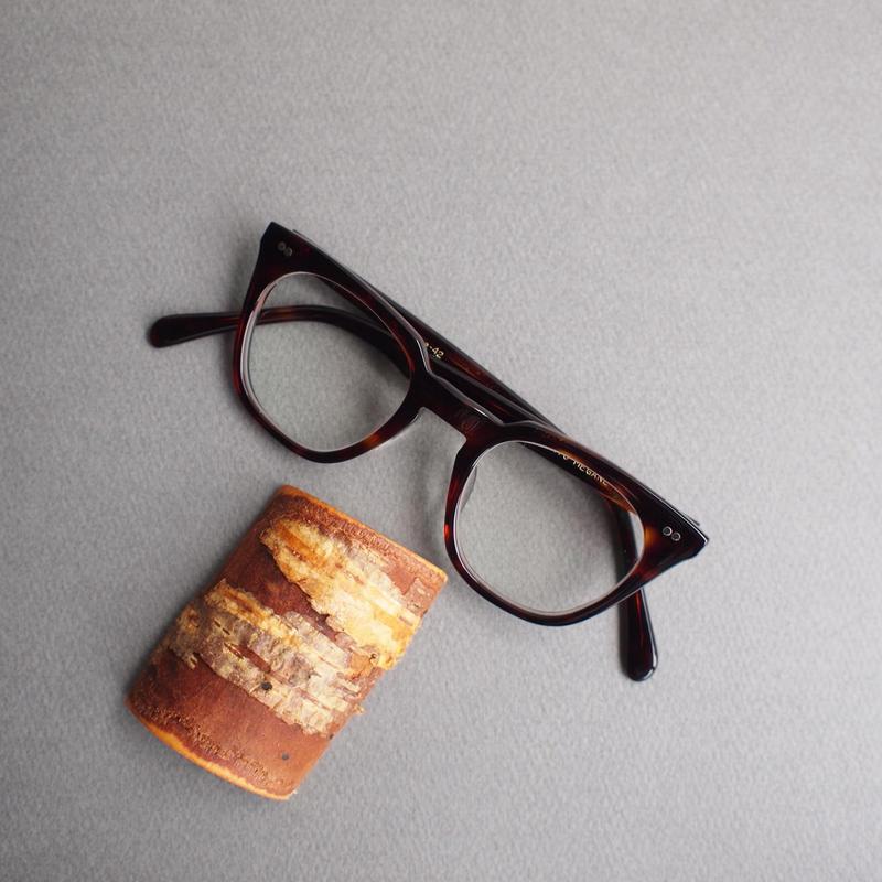 POTATO MEGANE〈ポテトメガネ〉Balint BROWN-PT119/BLACK-PT084