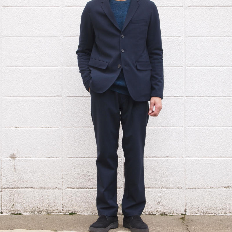 Manual Alphabet〈マニュアルアルファベット〉 A.D.A.N TROUSERS NAVY