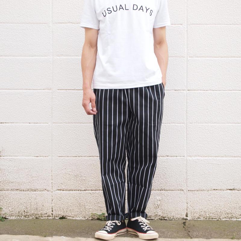 【unisex】COOKMAN〈クックマン〉 CHEF PANTS PIN STRIPE