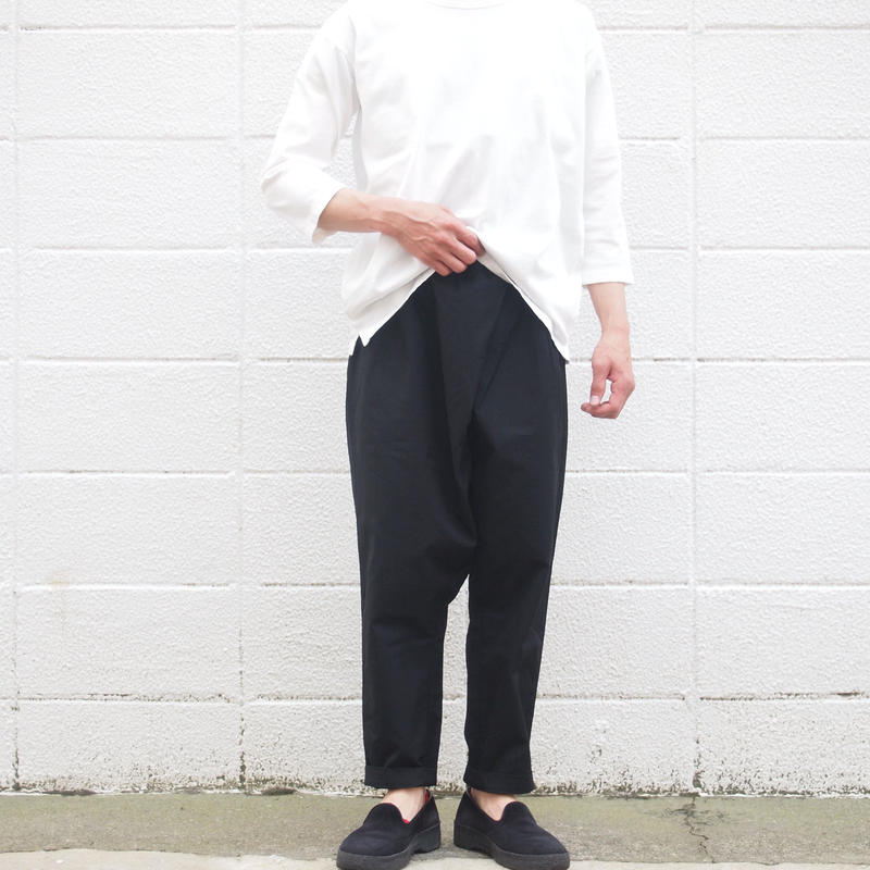 【unisex】Ordinary fits〈オーディナリーフィッツ〉 TWIST PANTS BLACK