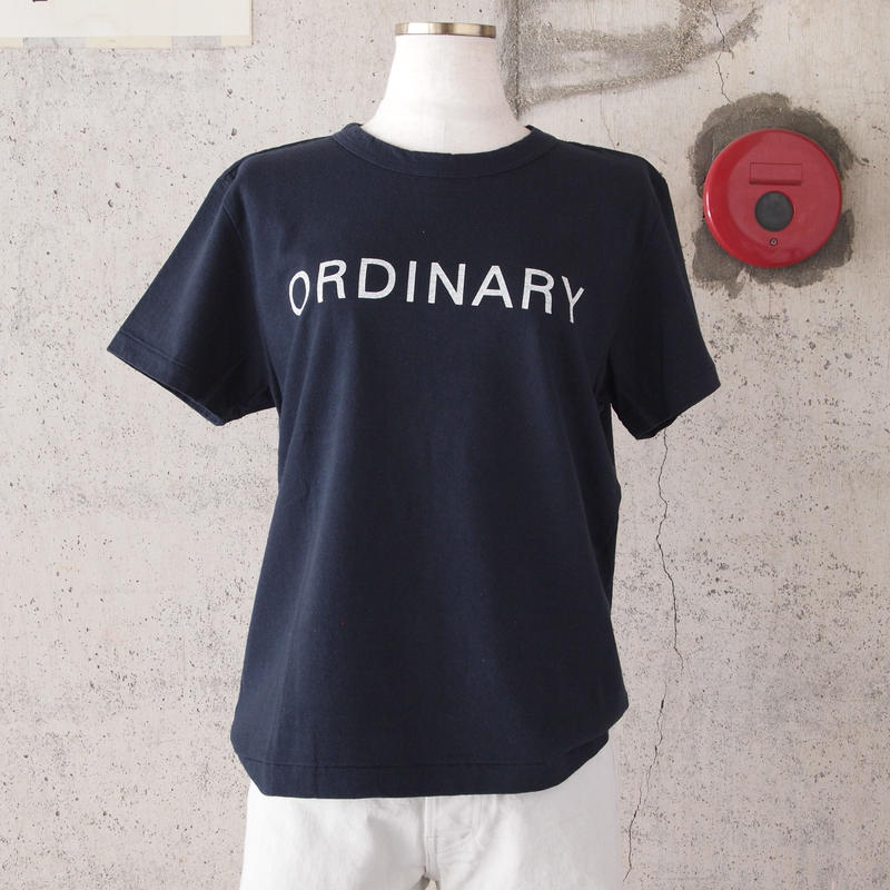 【women】SEIRYU & Co.〈セイリューアンドコー〉 ORDINARY T-SHIRT NAVY