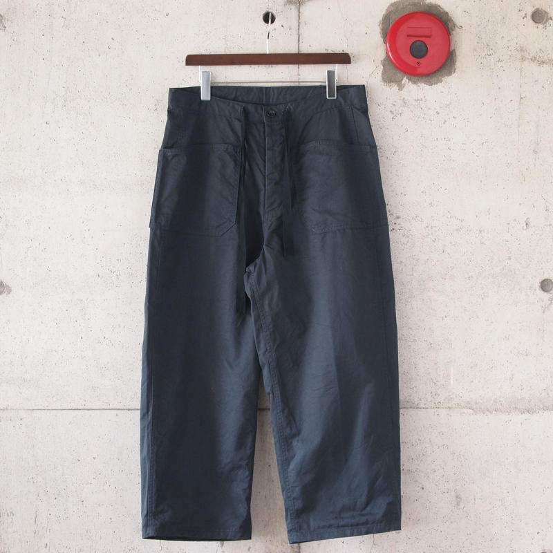 【unisex】Ordinary fits〈オーディナリーフィッツ〉 DERRICK twill INK BLACK
