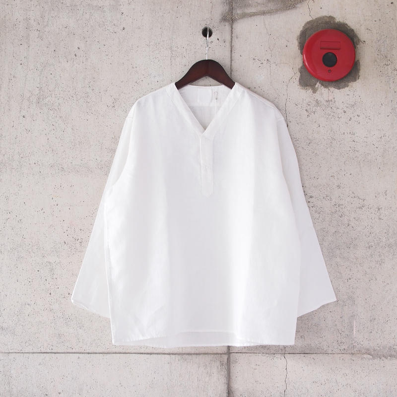 【unisex】5W〈ゴワット〉Juban - Linen WHITE