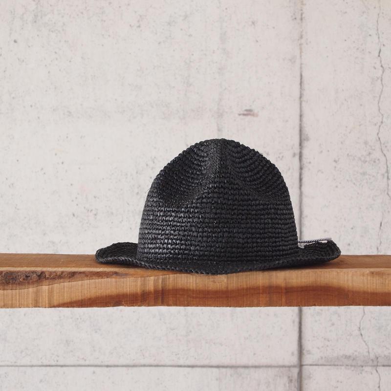 【unisex】【kids】SUBLIME〈サブライム〉 MOUNTAIN HAT BLACK