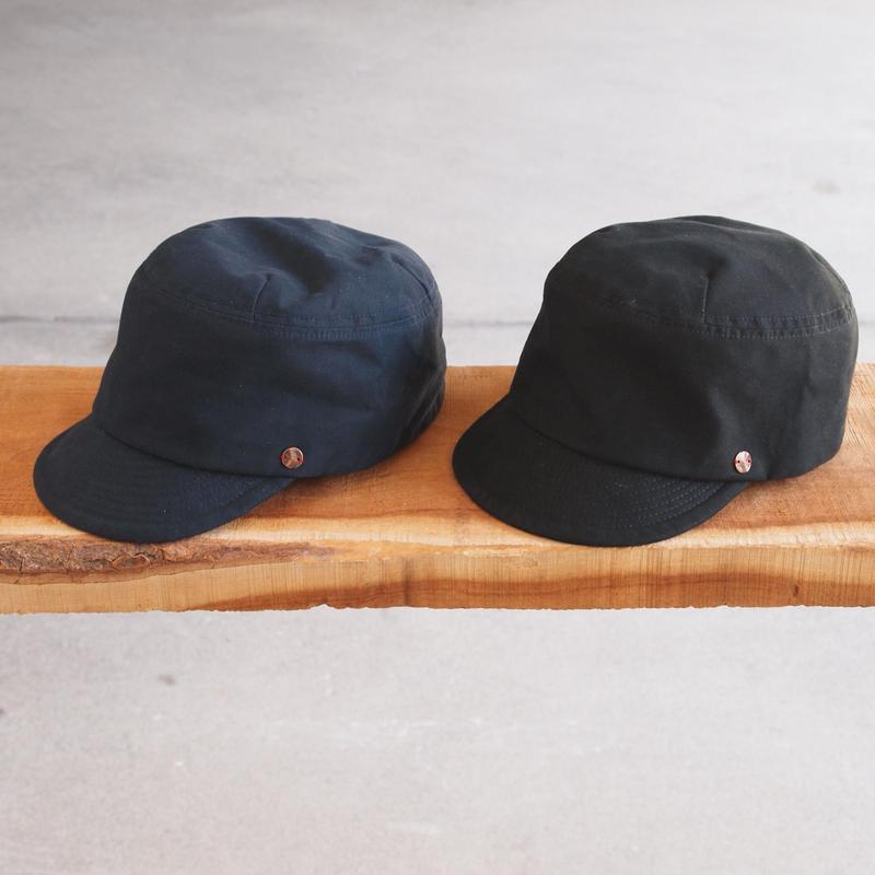 morno〈モーノ〉 ARMY CODE DE GAULLE CAP NAVY/BLACK