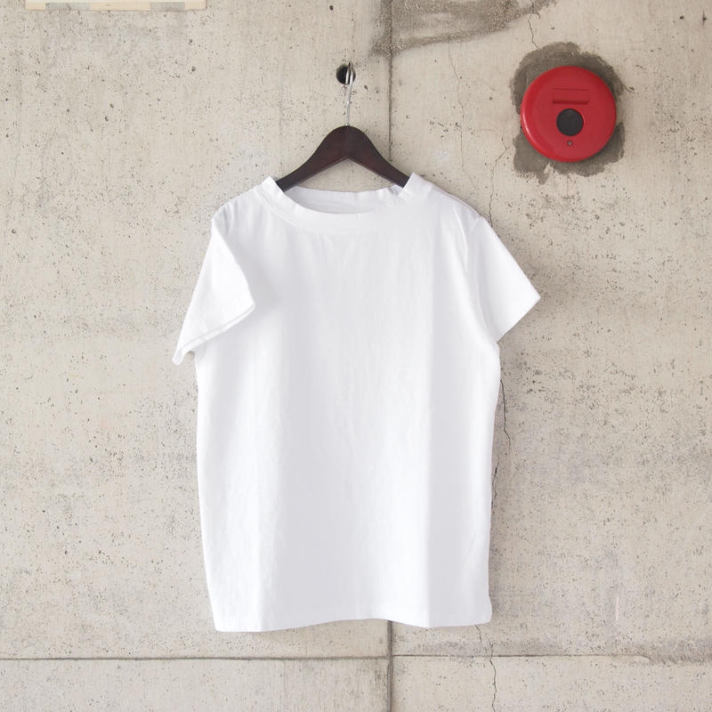 【women】Lim home〈リムホーム〉HOMIE TEE WHITE