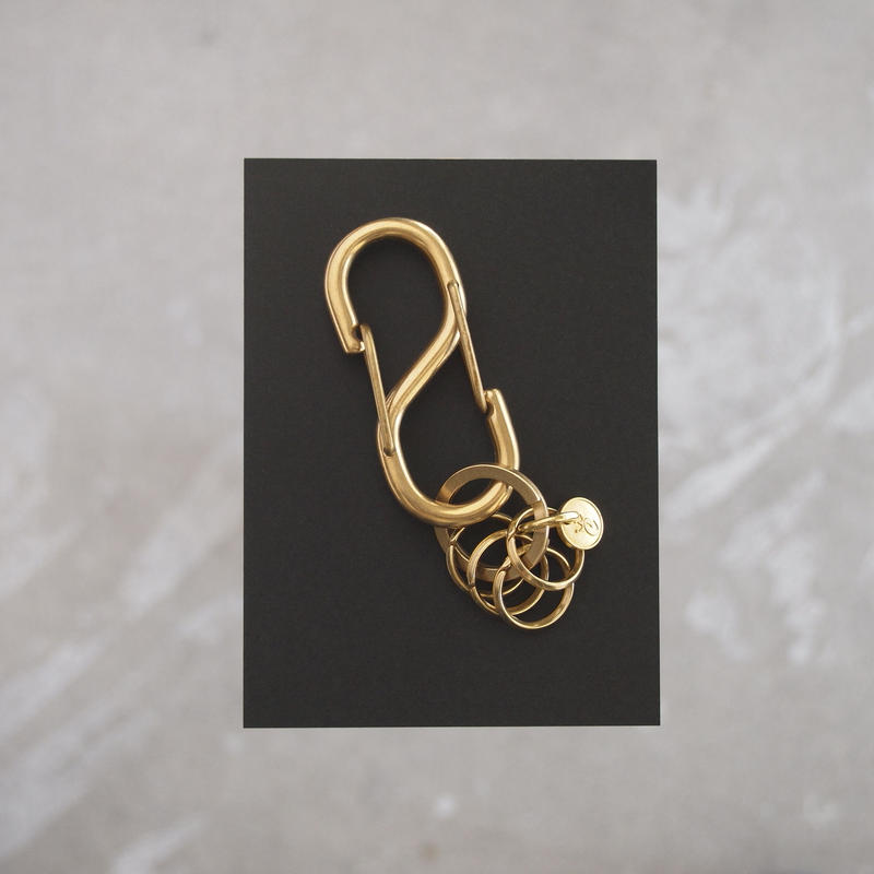 Esperanto〈エスペラント〉S/KARABINER KEY HOLDER ANTIQUE GOLD