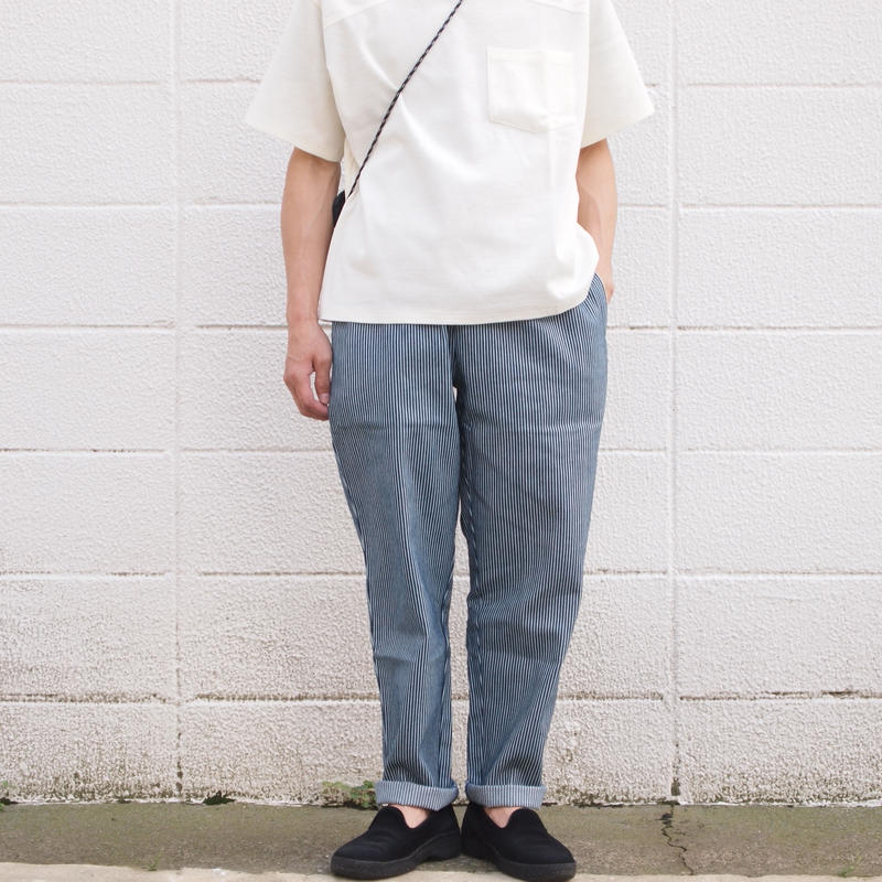 【unisex】COOKMAN〈クックマン〉 CHEF PANTS HICKORY