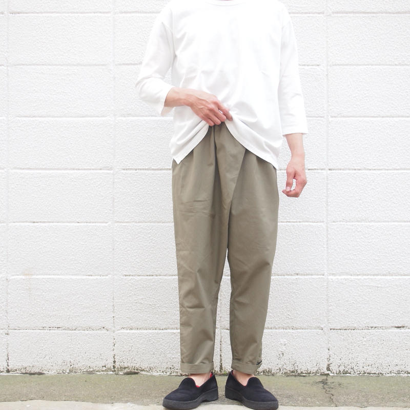 【unisex】Ordinary fits〈オーディナリーフィッツ〉 TWIST PANTS KHAKI