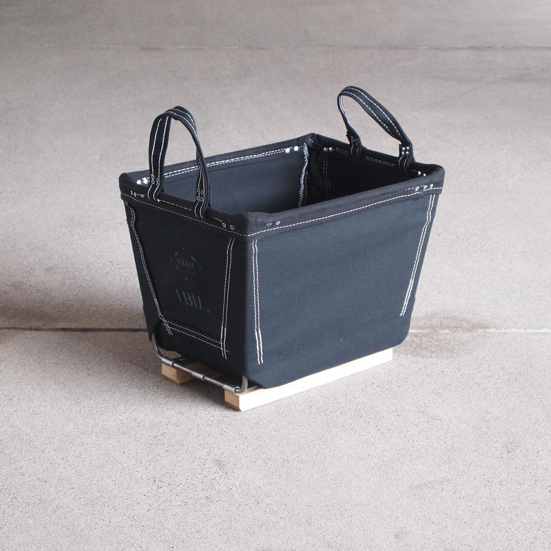 Steele Canvas Basket〈スティールキャンバス バスケット〉 SQAURE color BLACK