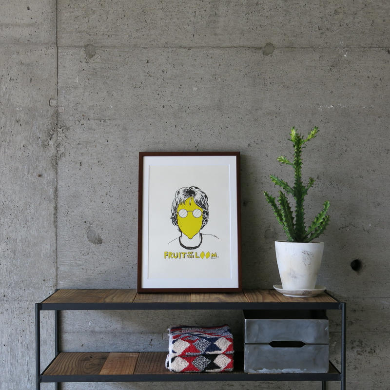 FRUIT OF THE LOOM〈フルーツオブザルーム〉 FRUIT PARLOR アートボード - Art by ADRIAN HOGAN