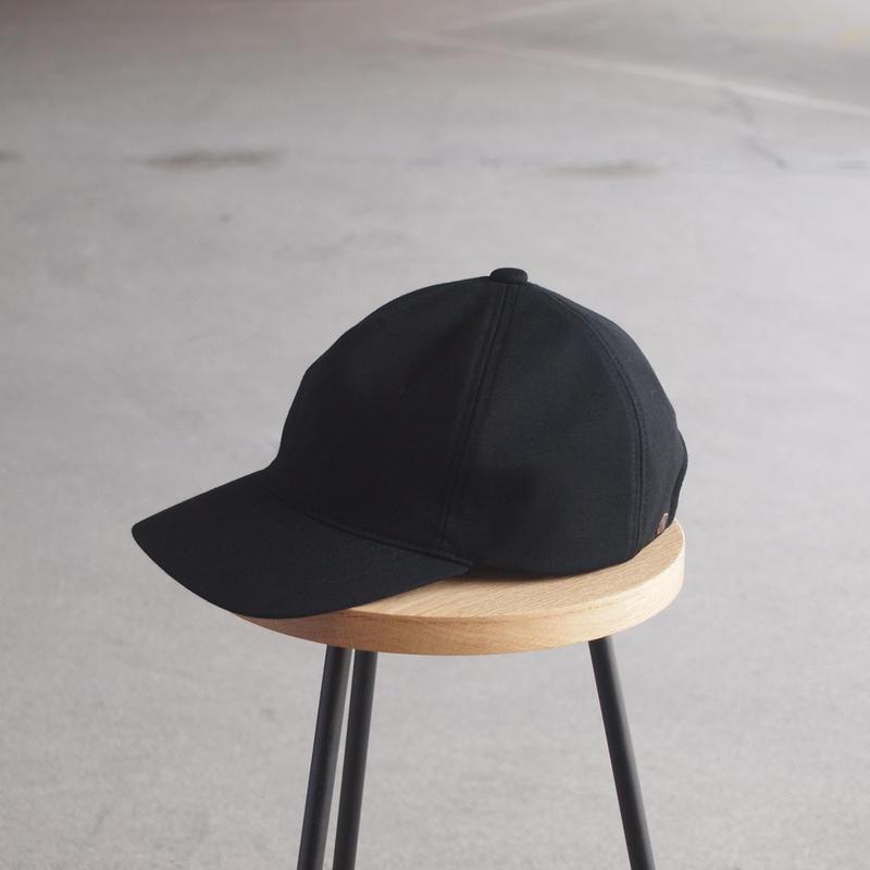 morno〈モーノ〉 IMPORT FABRIC B.B. CAP BLACK
