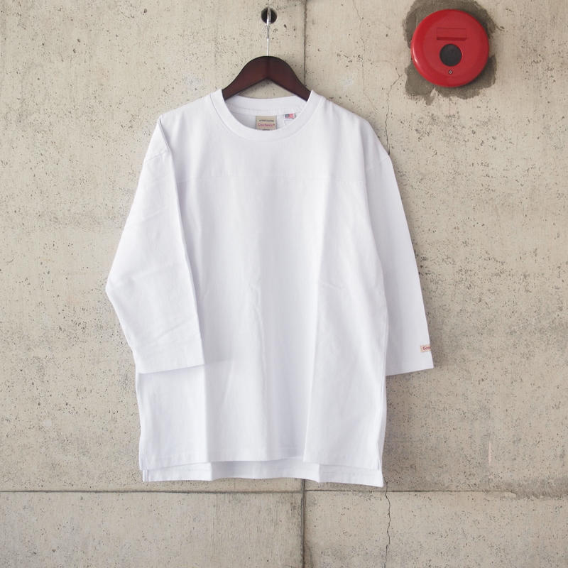 Goodwear〈グッドウェア〉U.S.A. COTTON FOOTBALL TEE  WHITE