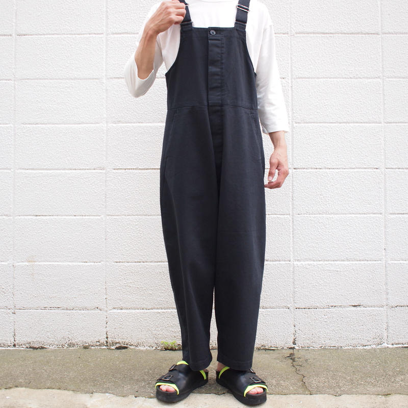 【unisex】Ordinary fits〈オーディナリーフィッツ〉 DUKE OVERALL BLACK