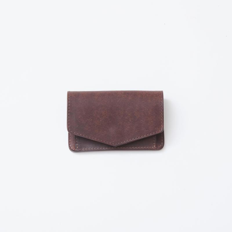 mini wallet(ダークブラウン)