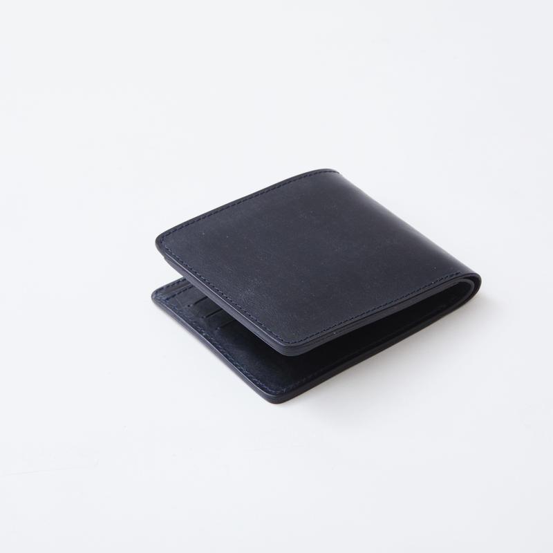 half wallet(ブライドルレザー/ネイビー)