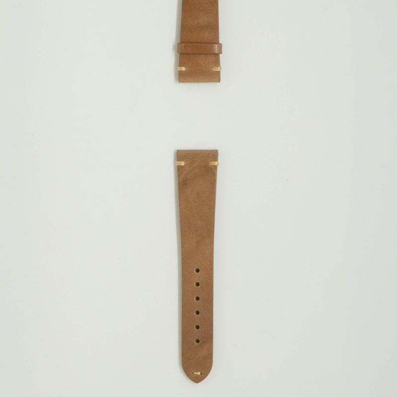 Aging Leather Strap for ROLEX Creta