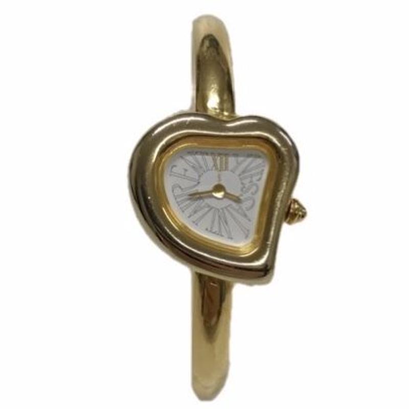 YSL heart bezel design watch