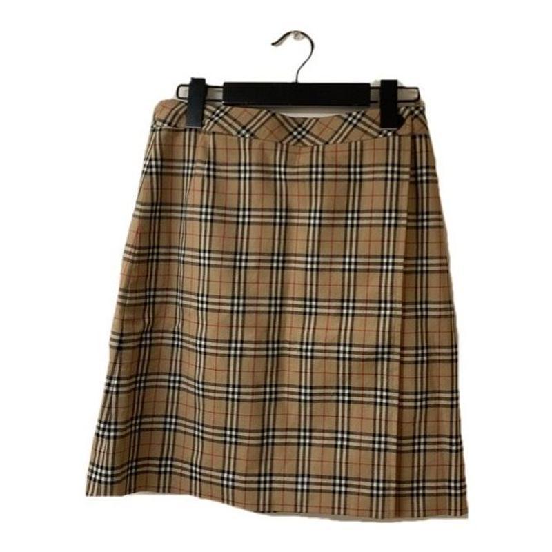 Burberry check design skirt(No.3205)