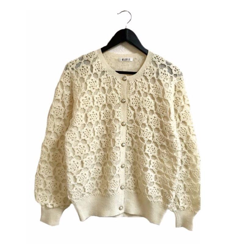 crochet design knit cardigan