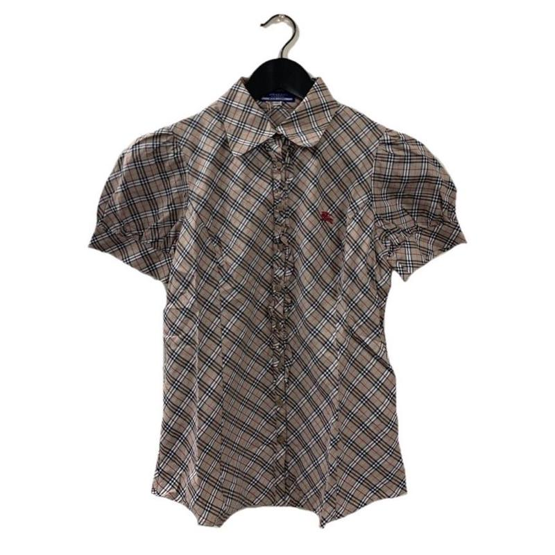Burberry check design blouse(No.3322)
