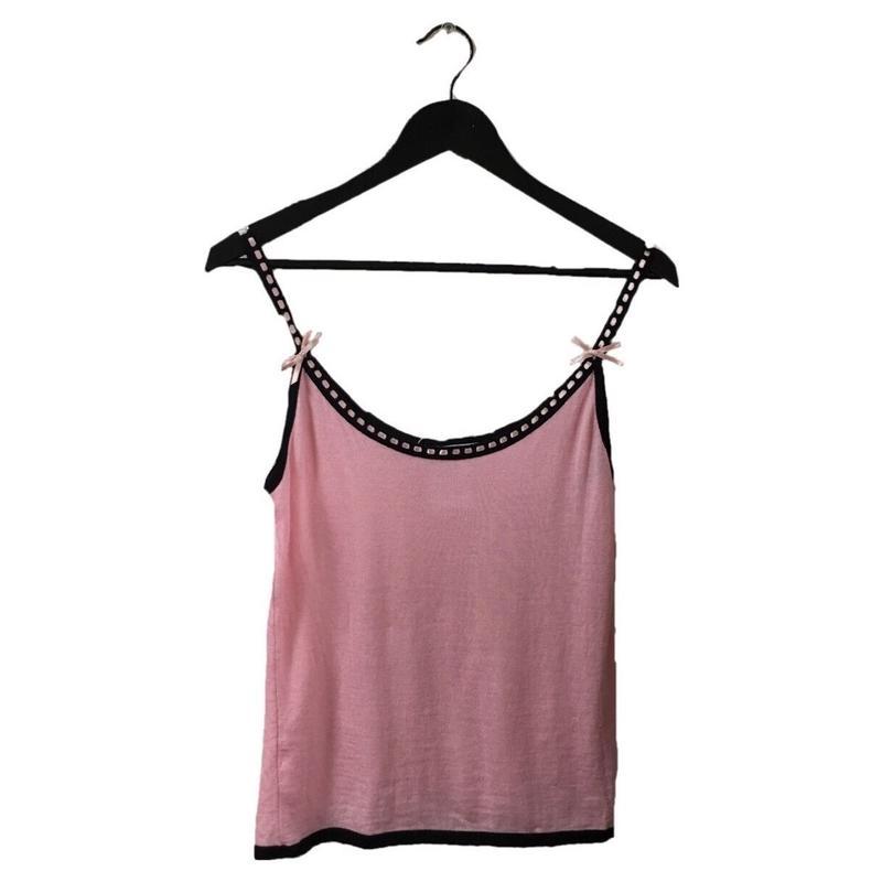 Christian Dior ribbon  camisole