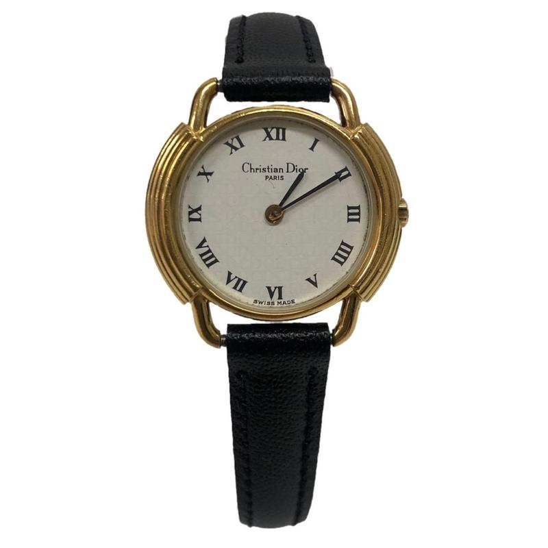 Christian Dior  gold frame watch(No.3330)