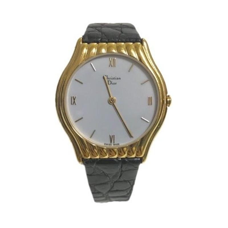 Christian Dior gold flame vintageWatch