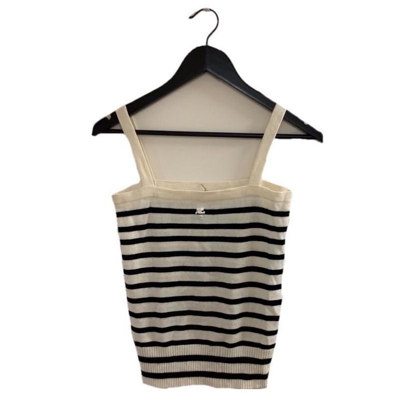 courrèges boarder design camisole(No.2957)