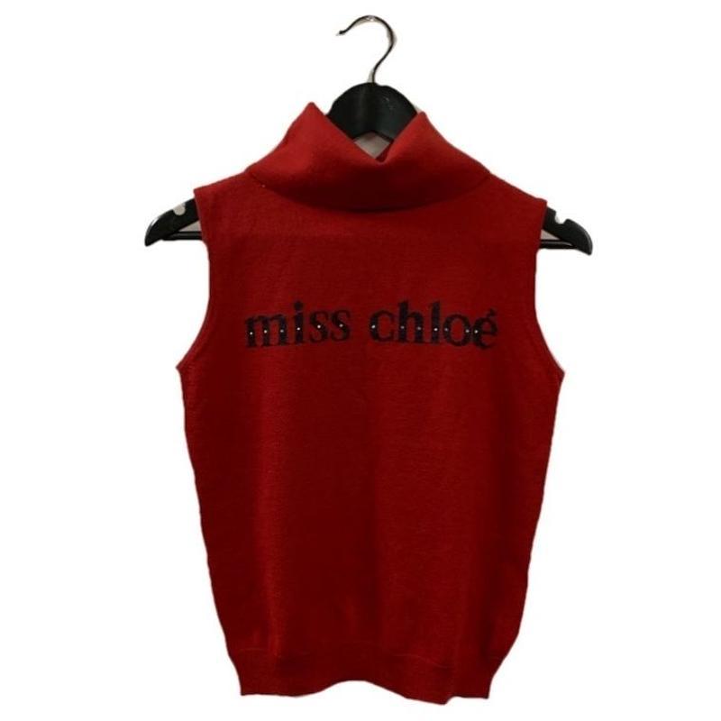 Chloé logo high neck design summer knit tops(No.3317)
