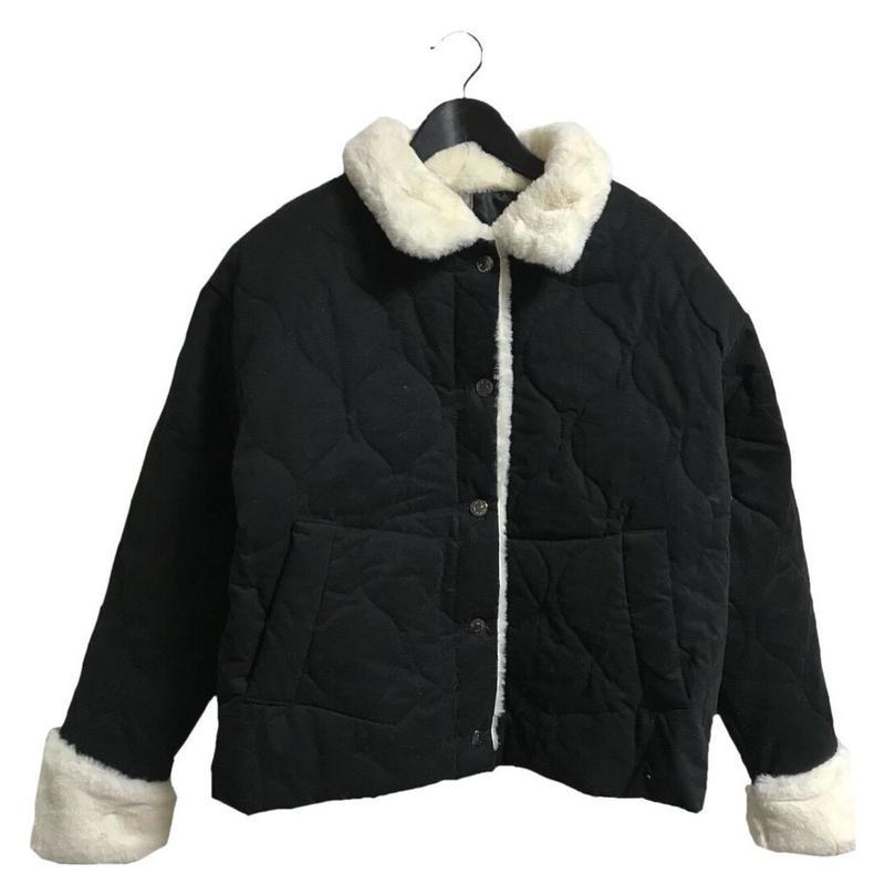 【スペシャルプライス】fur down coat black