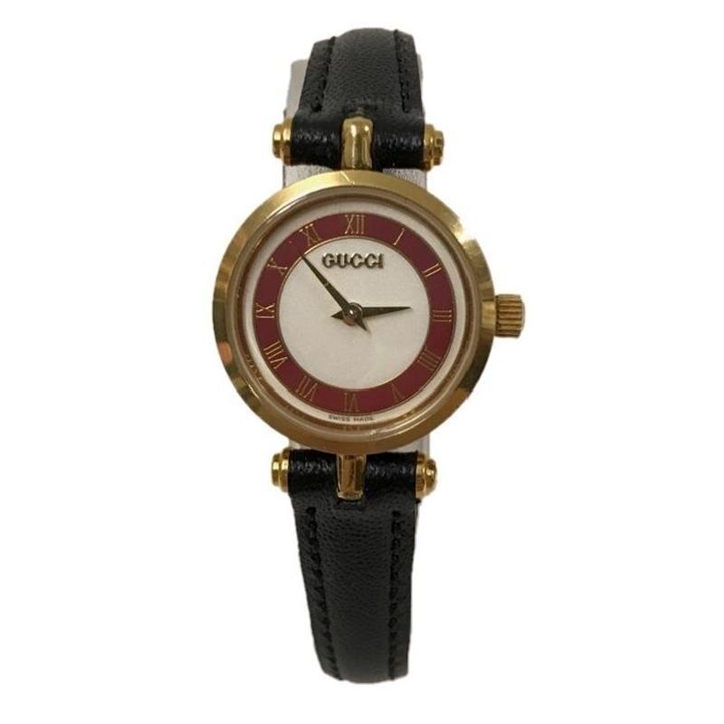 GUCCI sherry line design Watch red(No.3282)