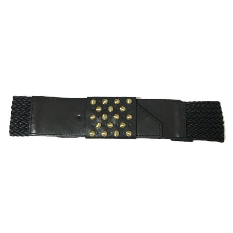gold studs gom belt