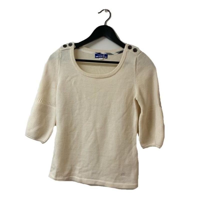 Burberry arm volume knit tops(No.2428)