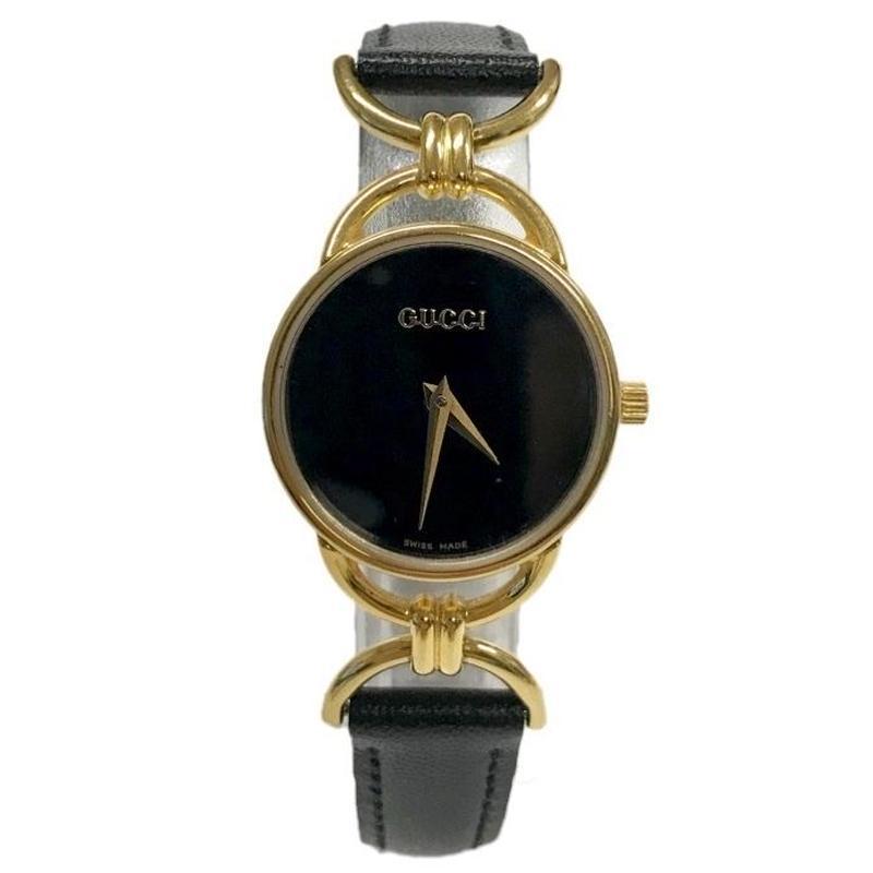 GUCCI gold motif Watch(No.3236)
