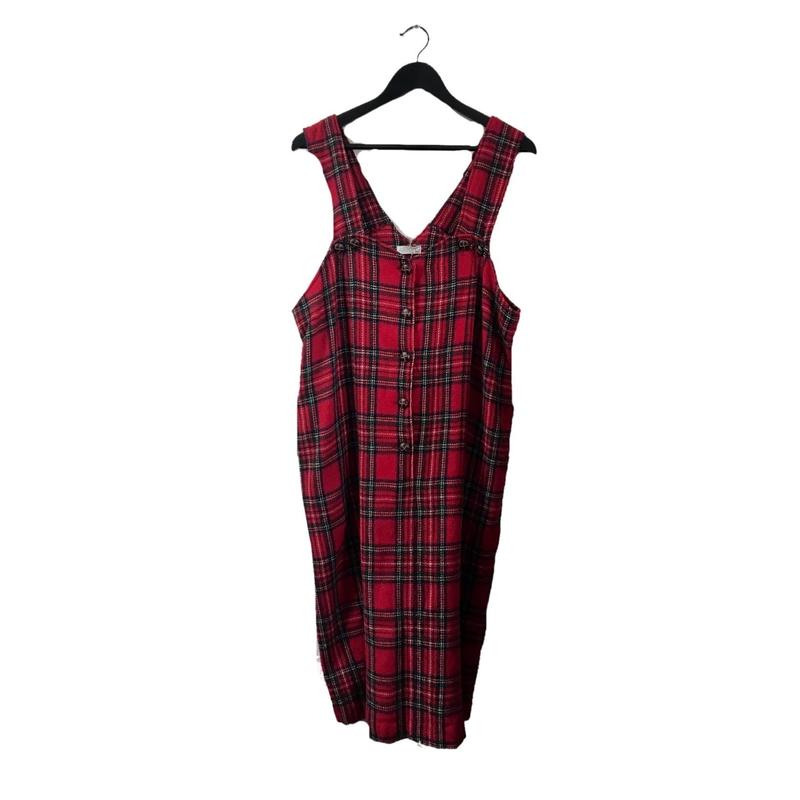 red check one-piece