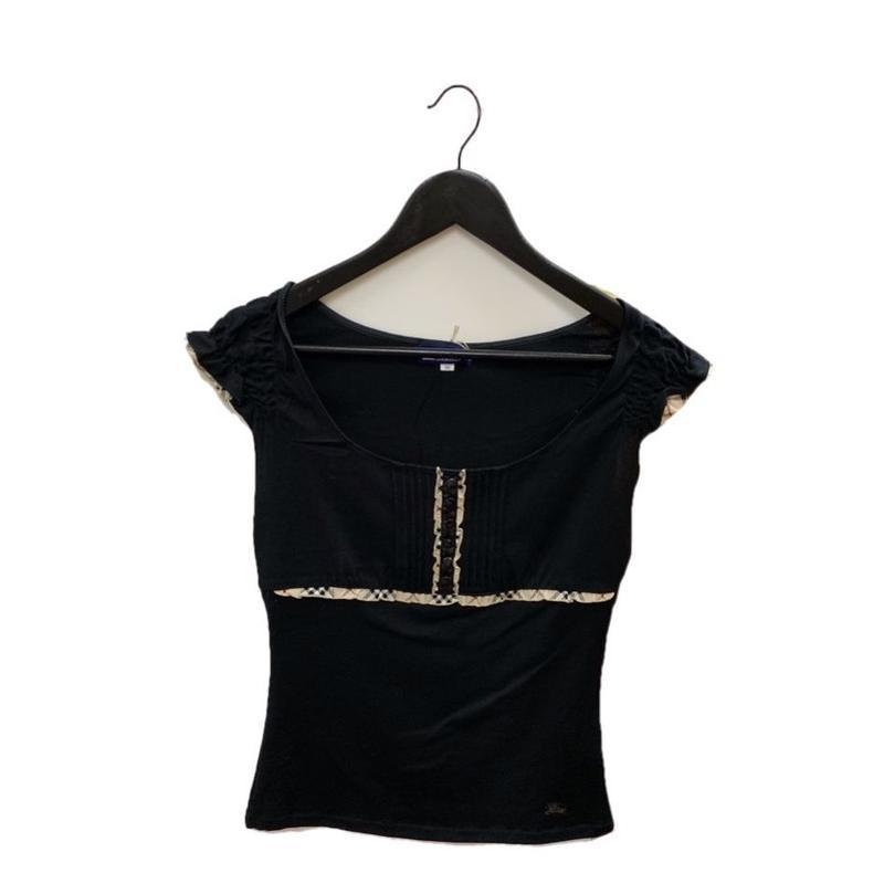Burberry shoulder frill design tops (No.2906)