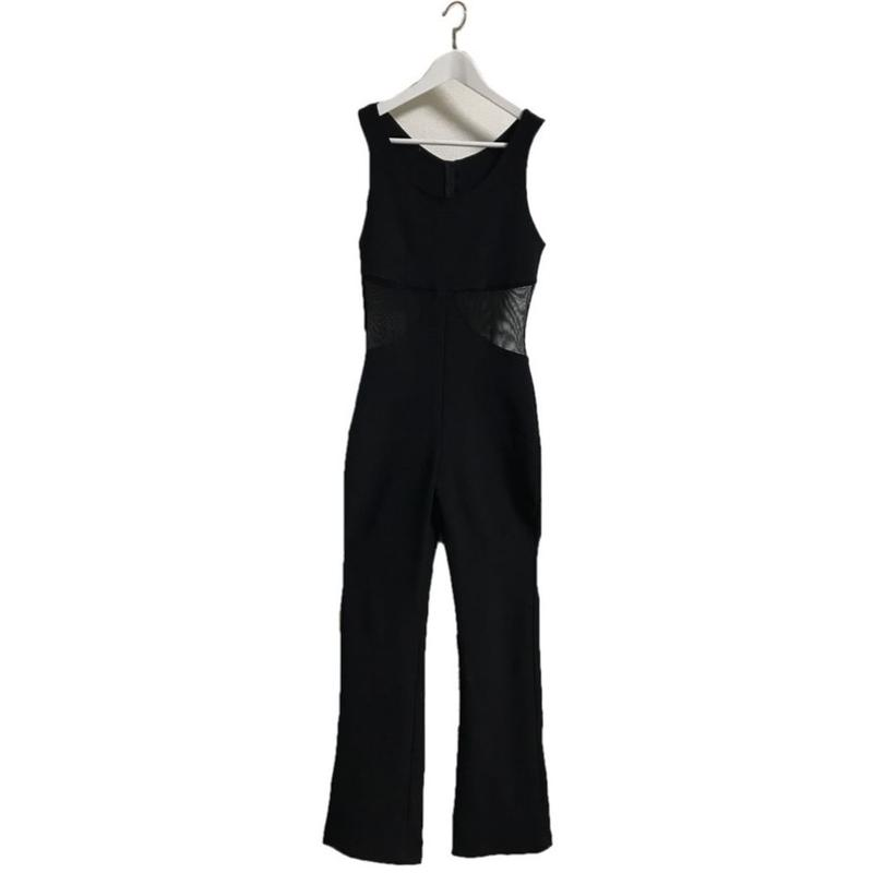 side see-through rompers