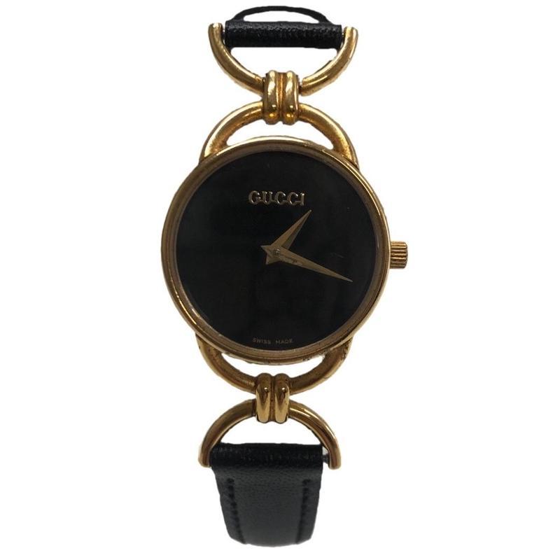 GUCCI gold motif watch(No.3331)