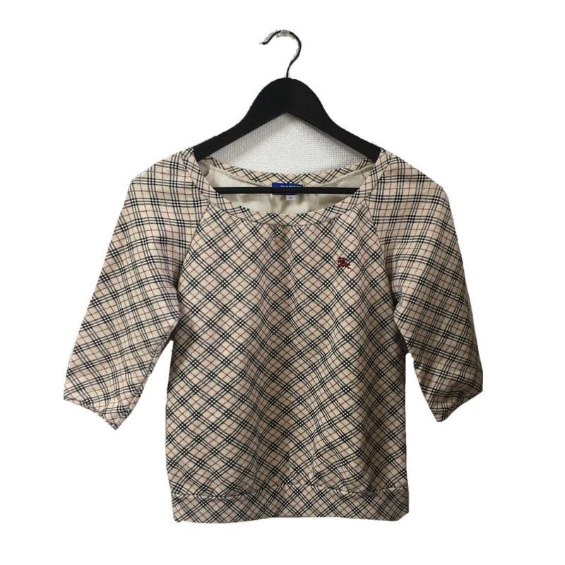 Burberry check design sweat(No.3301)