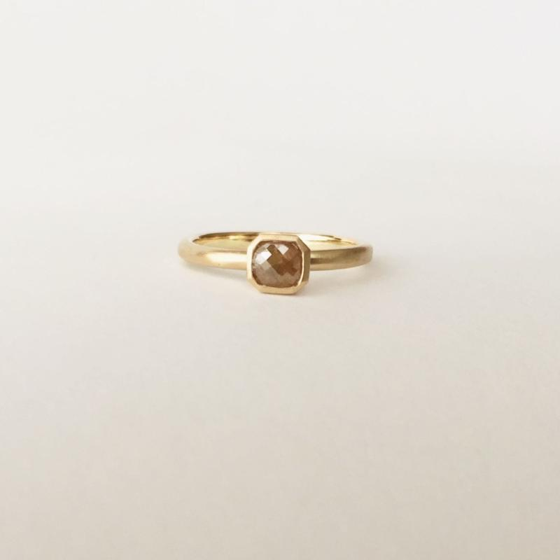 Natural Diamond Ring (S)