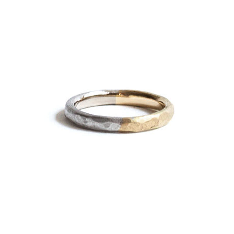 Double Color Marriage Ring (#16, #18)
