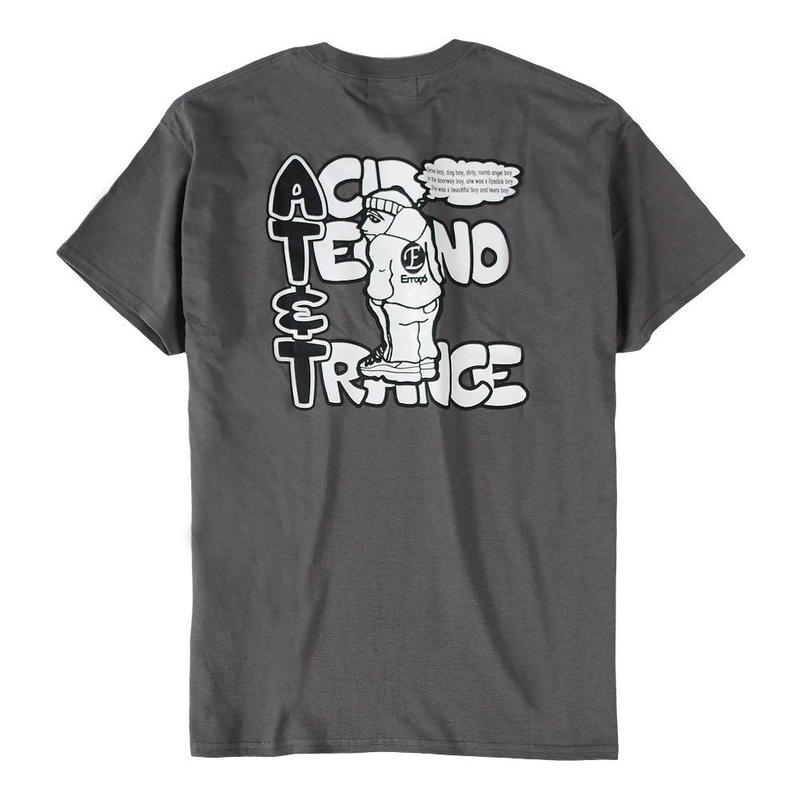 AT&T TEE / CHARCOAL
